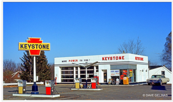 Keystone gas, 1960s