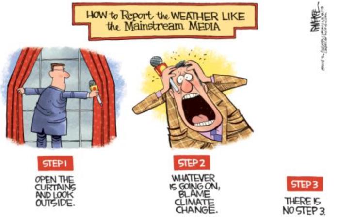 Lamestream Media weather reporting