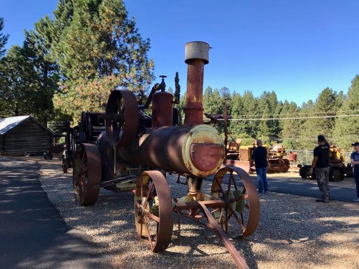 Larsen-steam tractor