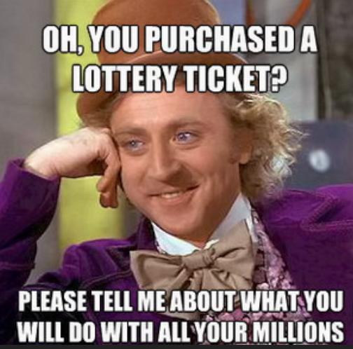 Lottery millions
