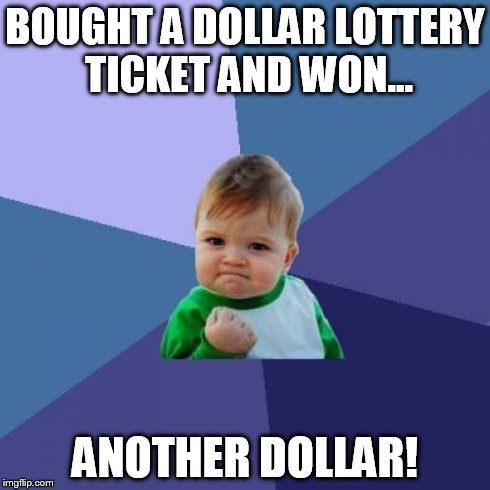 Lottery ticket-1 dollar