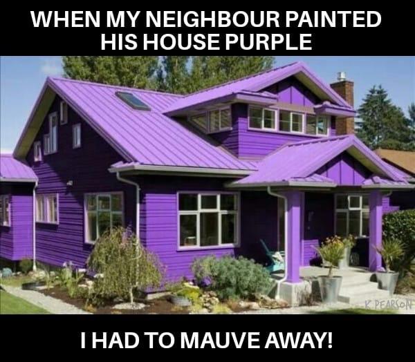 Mauve away
