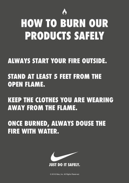 Nike-burning-instructions