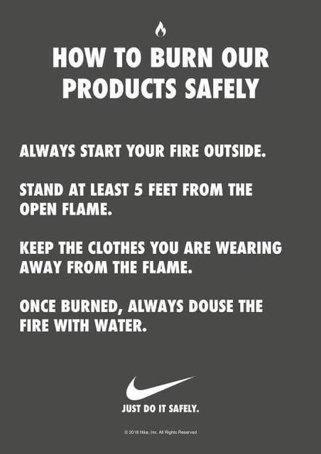 Nike-burning-instructions