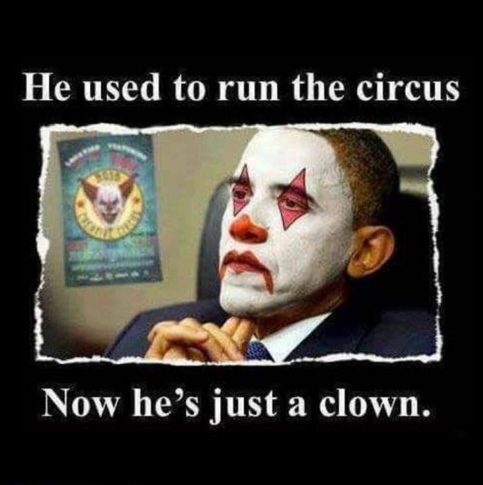 Obama-clown