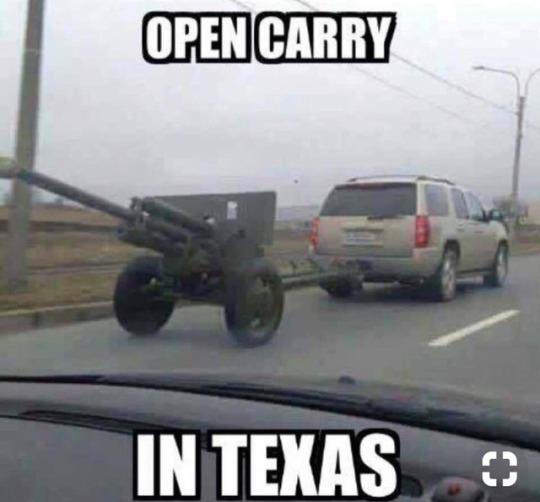 Open carry in Texas
