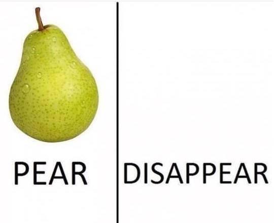 Pear-Dis-a-Pear