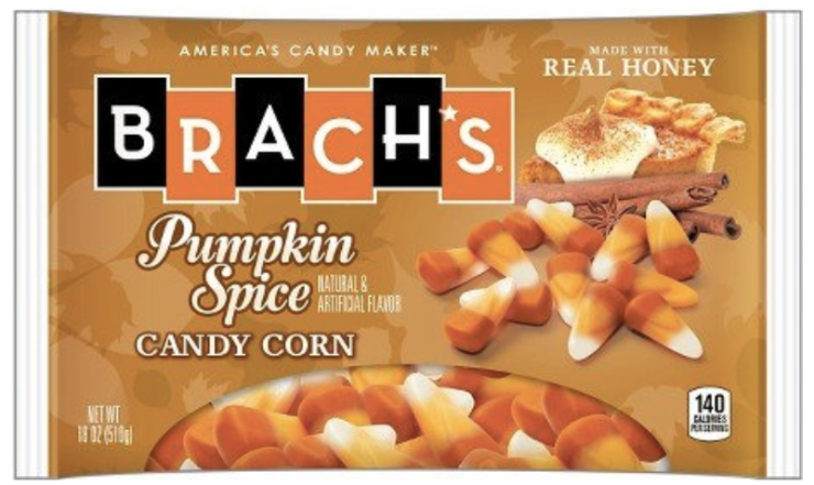 Pumpkin Spice Candy Corn