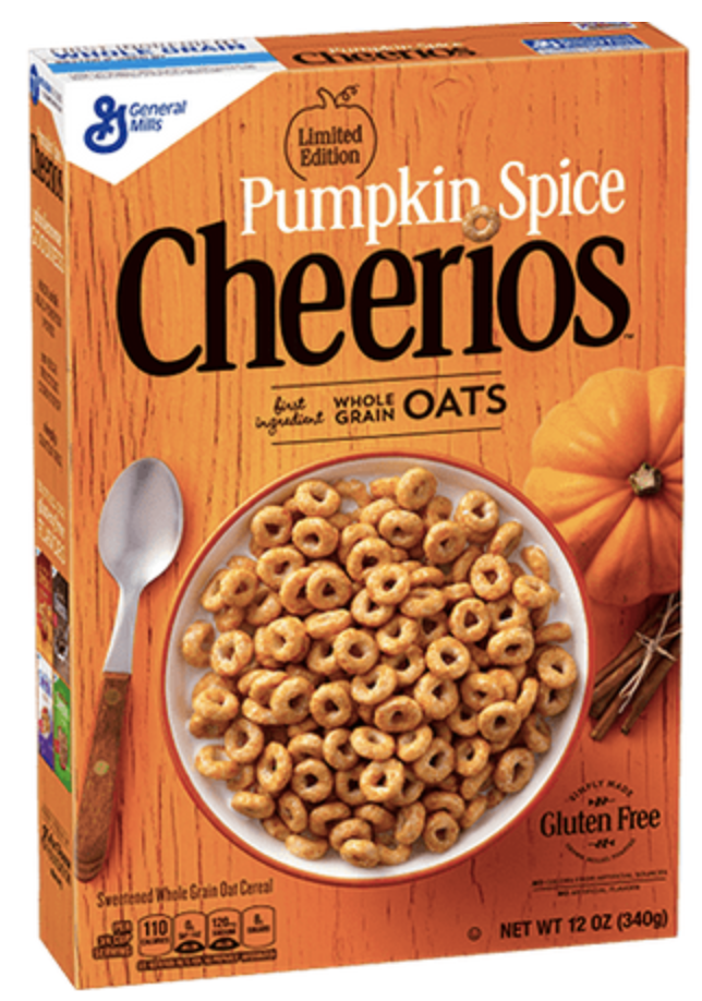 Pumpkin Spice Cheerios