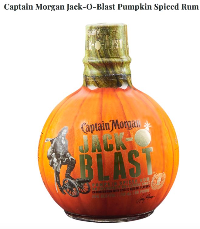 Pumpkin Spice rum