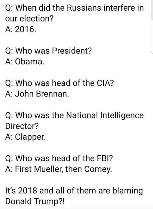 Questions for Mueller