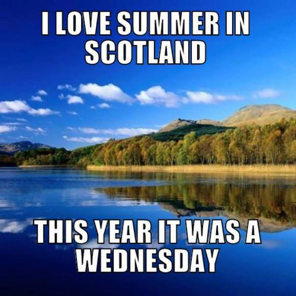 Summer in Scotland