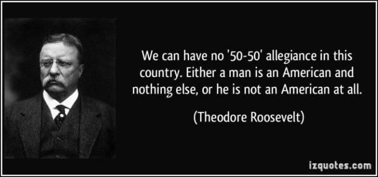 T.Roosevelt Allegiance