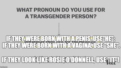 Transgender pronouns