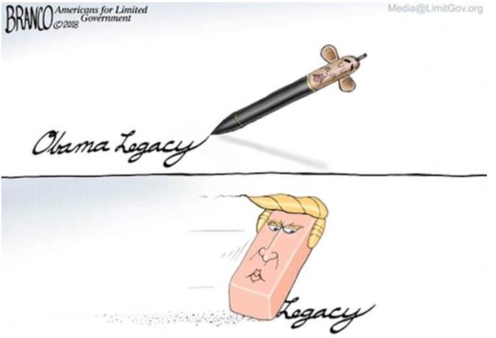 Trump-erasing Obama's legacy