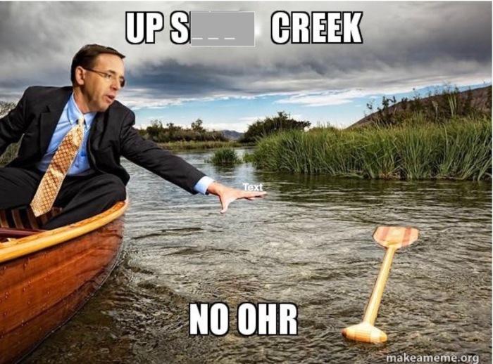 Up S--- Creek