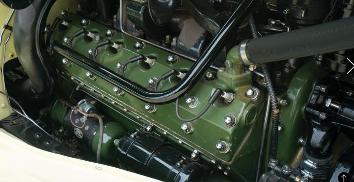 1936 Packard Twelve-engine