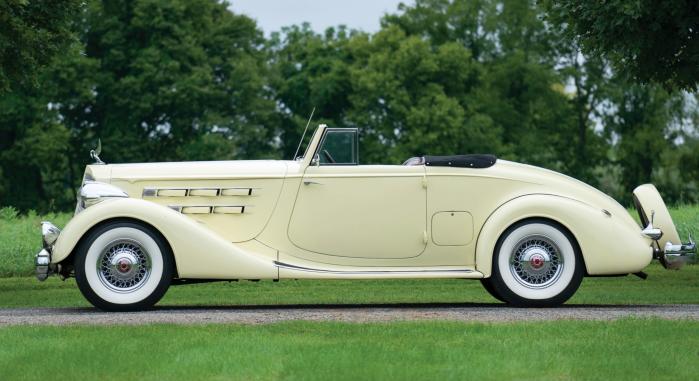 1936 Packard Twelve - left side
