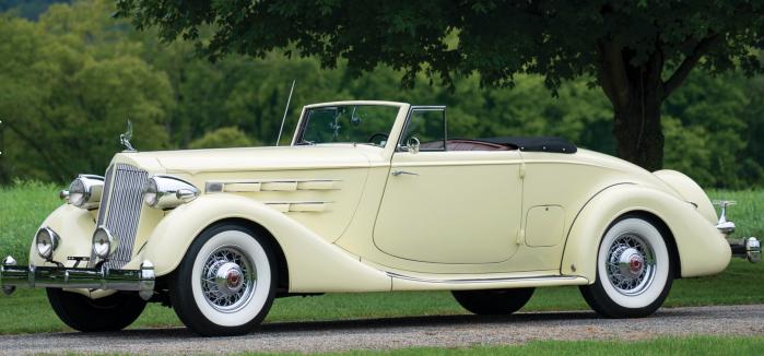 1936 Packard Twelve -lf