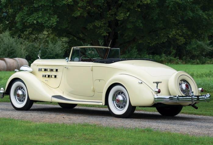 1936 Packard Twelve - lr