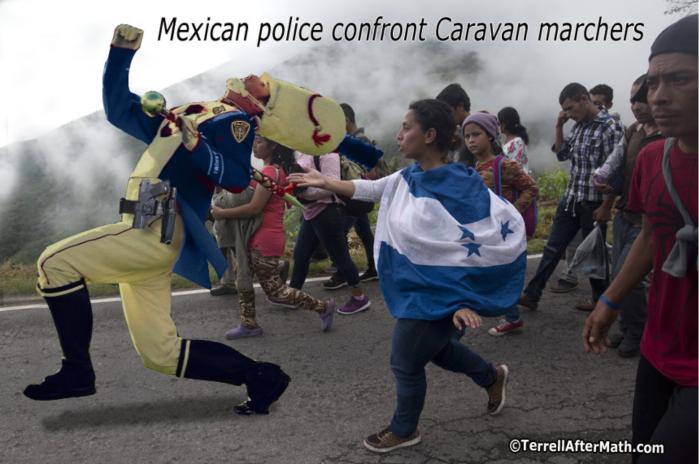 Caravan-Meskin police