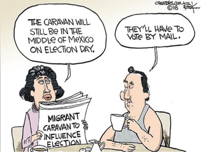 Caravan-vote-by-mail