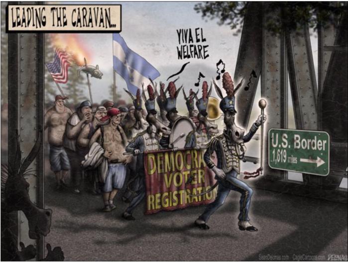 Caravan-voter registration