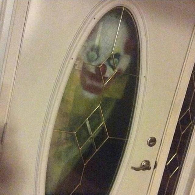Democrat at the door