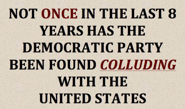 Democrats-collusion