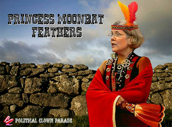Fauxchahontas Moonbat Feathers