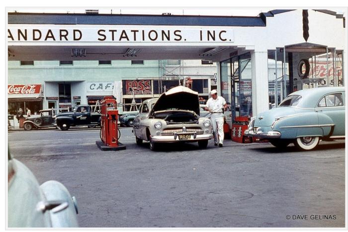 Gas station snapshot