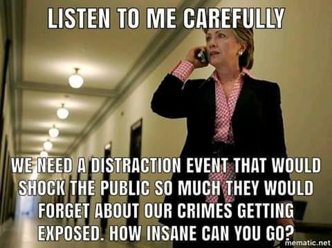 Hitlery-crimes distraction