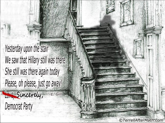 Hitlery on the stair