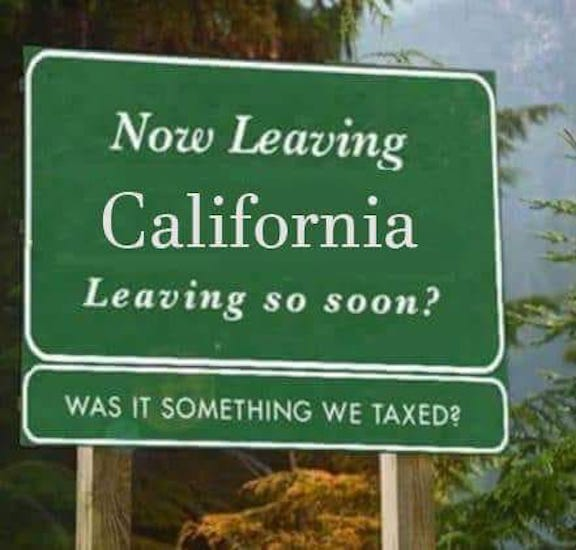 Leaving CA
