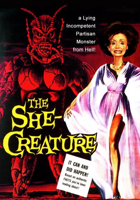 Nancy P. Lousy-halloween-she-creature