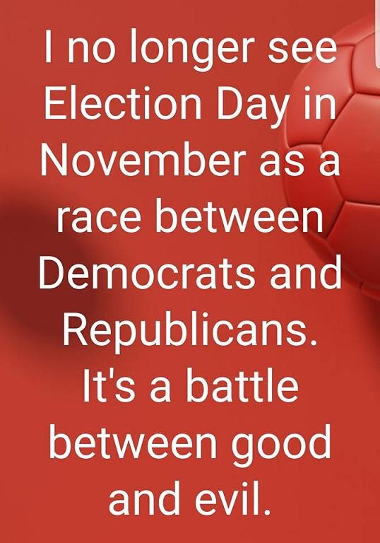 Nov 6 2018-good-vs-evil