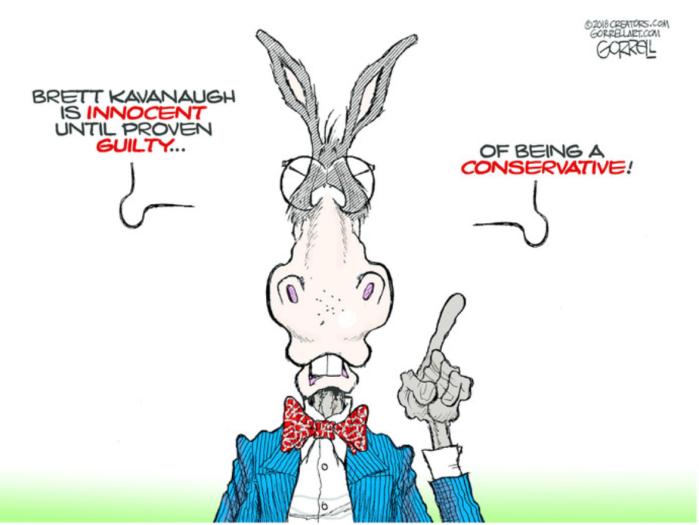 Rats-Kavanaugh guilty conservative