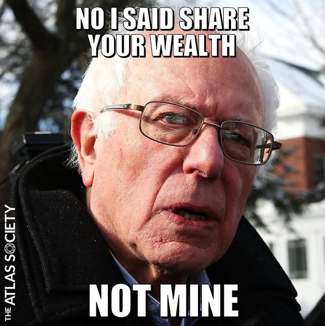Sanders-share wealth