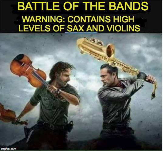 Sax & Violins