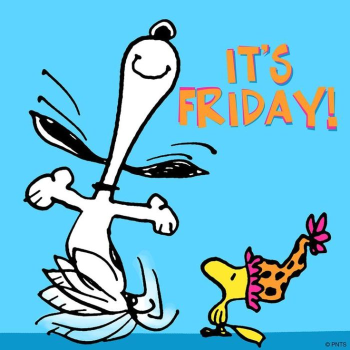 Snoopy-it's Friday