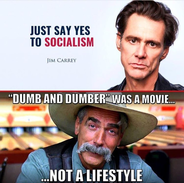 Socialism=Jim Carrey