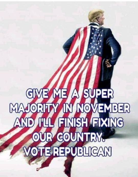 Trump cape