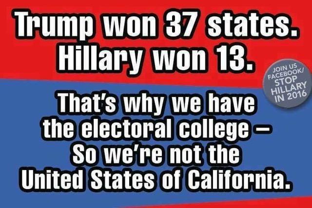 Trump-electoral college
