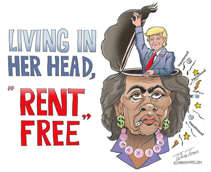 Trump-Mad Max-rent free
