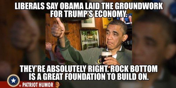 Trump-Obama-Economy