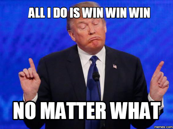 Trump Win Win Win