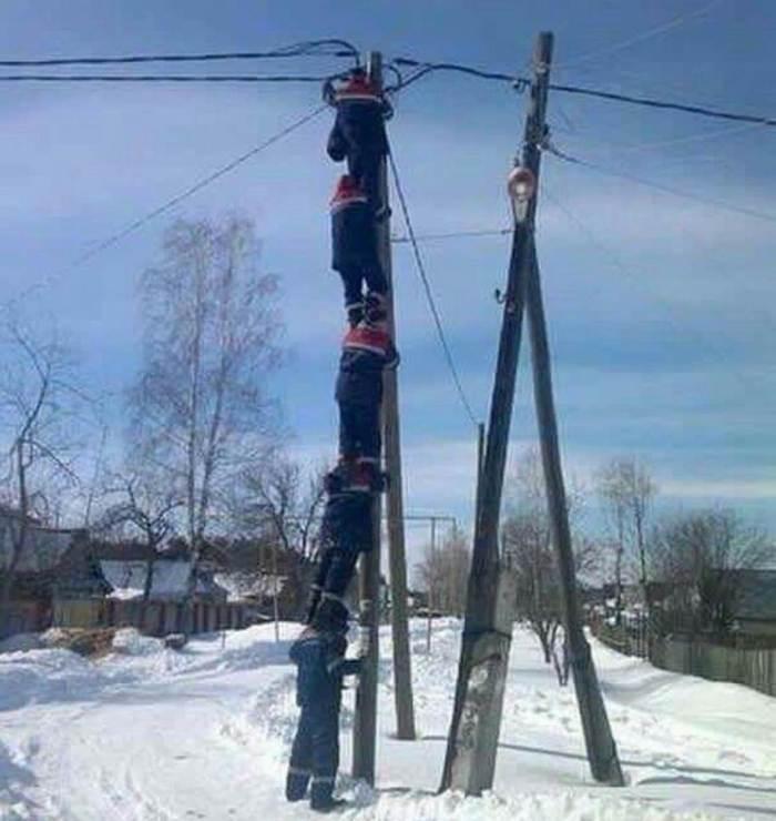 Why Women Live Longer-snow_pole