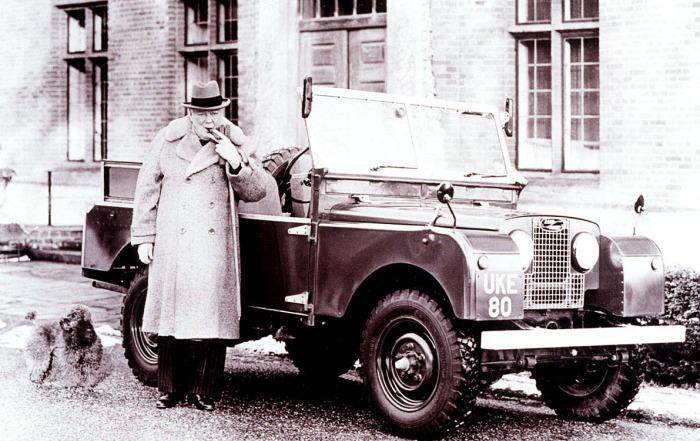 Winston Churchill-Land Rover