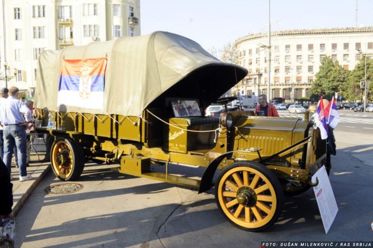 1918 Packard truck-Belgrade