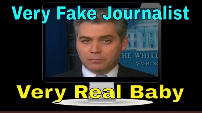 Acosta-fake journalist